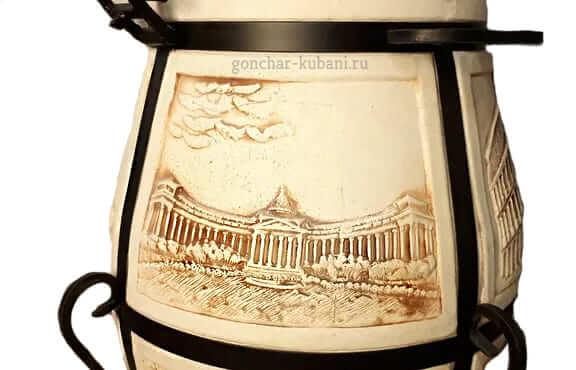 Тандыр рисунок собор