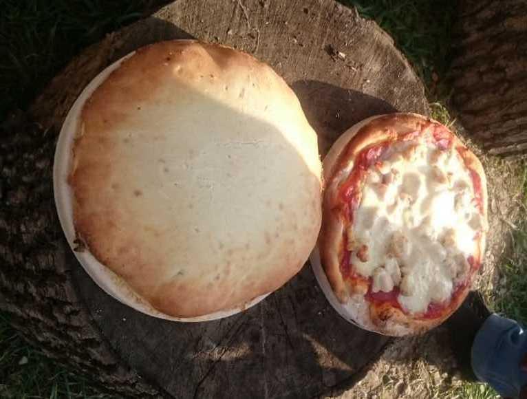 Пицца запеченная в тандыре