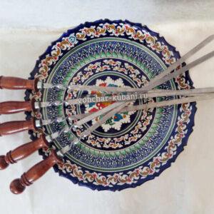 Шампура с ручкой 45 см