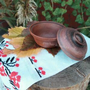 глиняная супница щедрость