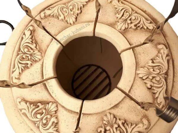 тандыр из шамотной глины