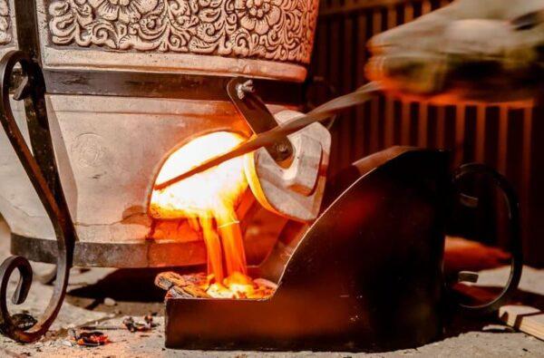Зольник для тандыра
